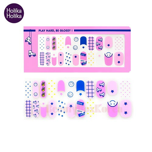HOLIKA HOLIKA Piece Matching Nails Nail Fit Sticker 1ea [18 S/S Glossy Play Collection ],HOLIKAHOLIKA